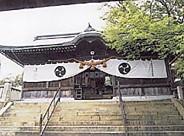 生石神社石の寶殿拝殿
