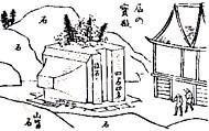 生石神社石の寶殿司馬江漢