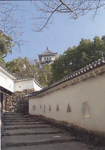姫路城はの門前