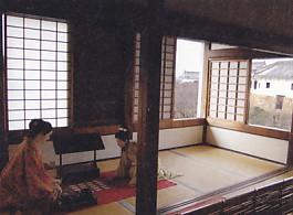 姫路城化粧櫓内部