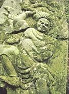 道仙寺神變菩薩石像