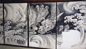 佛通寺方丈龍図