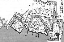 三原城絵図