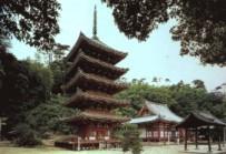明王院本堂と五重塔