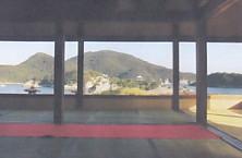 鞆の浦対潮楼風景