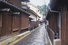 鞆の浦狭い道