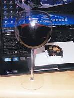 HappyBirthdayワインとケーキ