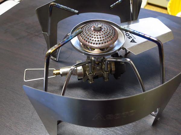 SOTO レギュレーターストーブ ST-310 専用ウインドスクリーン ST-3101