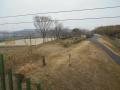 190303車窓から木津川CRを見下ろす