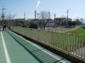 190309秋篠川に戻り、ループの起点へ