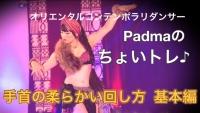 Padmaちょいトレベリーダンス手の動き