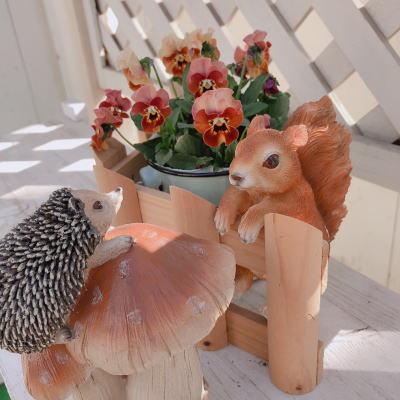 ブログ0309ハリネズミとリス