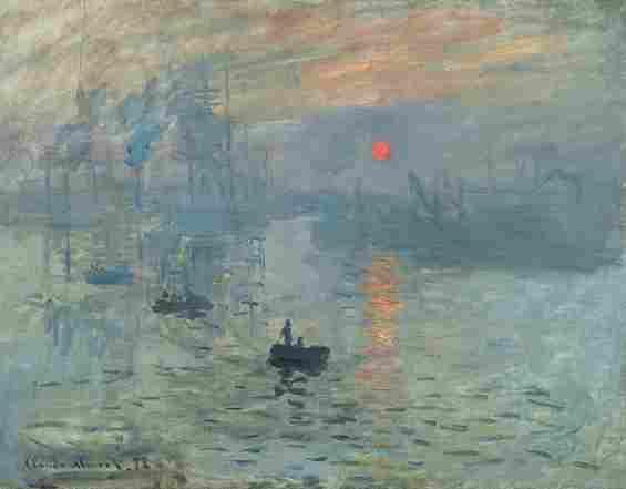 クロード・モネ『印象、日の出』 1892年
