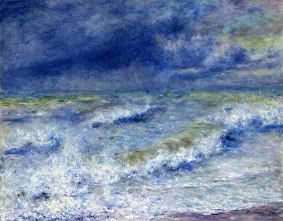 ルノワール 「波」1879)