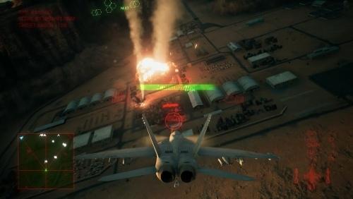 『エースコンバット7』砂漠地帯と嵐の中でのドッグファイトが繰り広げられる最新プレイ動画が公開!