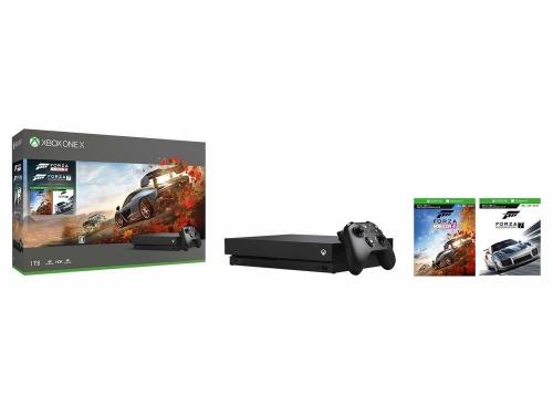 Amazonサイバーマンデーセールで『XboxOneX Forza Horizon4/Forza Motorsport7』同梱版が9500円値引き!