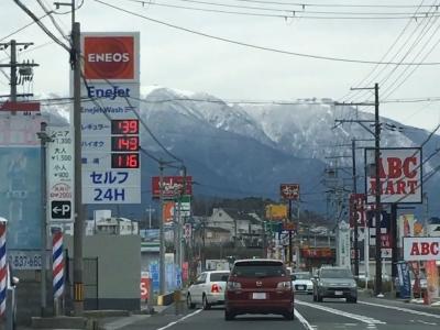 レギュラーガソリン139円/L 西近江路沿い大津市真野のセルフGSで(19/02/15)