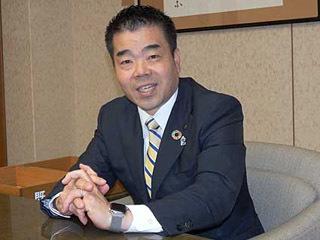 新年の抱負を語る三日月大造滋賀県知事