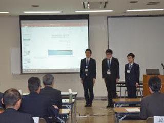 若手職員が制作を提案した茨木町の発表会