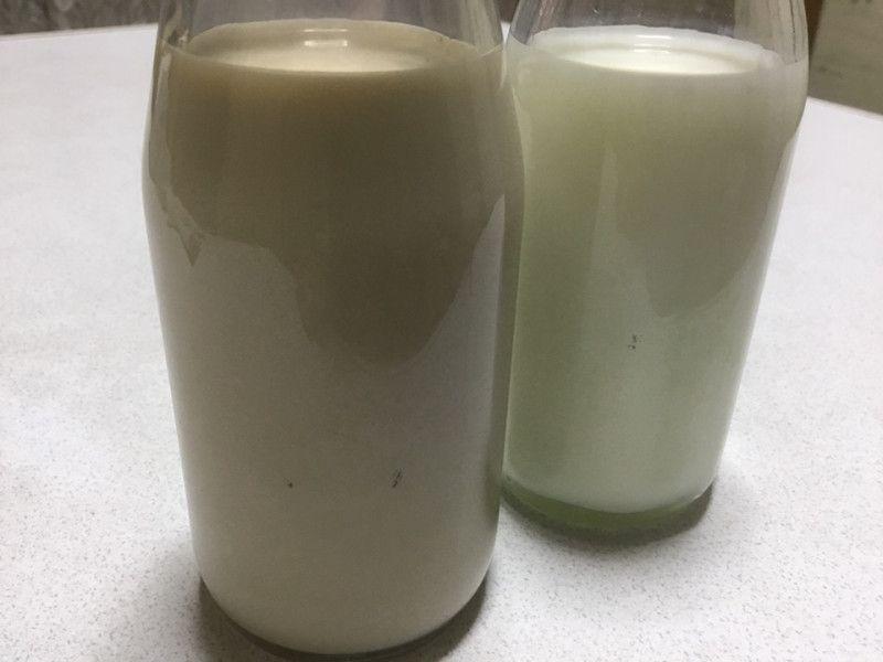 原液カラーした後の母乳