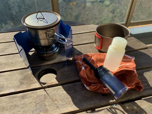 寒くたって外コーヒーを楽しもう!ウルトラライトなコーヒーセットがおすすめ