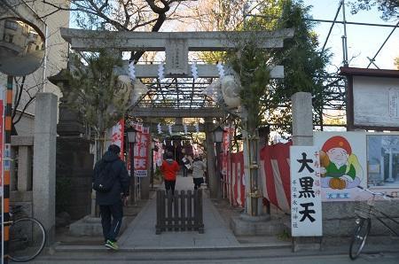 20190104千住本氷川神社01
