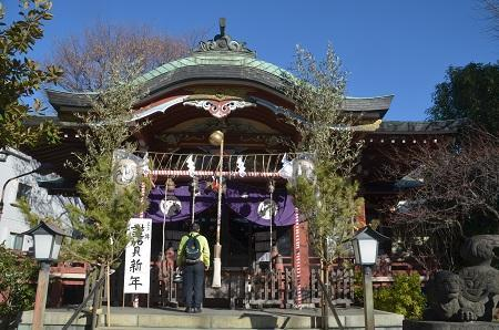 20190104千住本氷川神社08