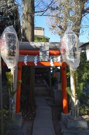 20190104千住本氷川神社13