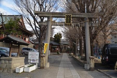 20190125上田端八幡神社01