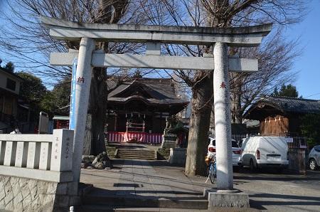 20190203滝野川八幡神社01