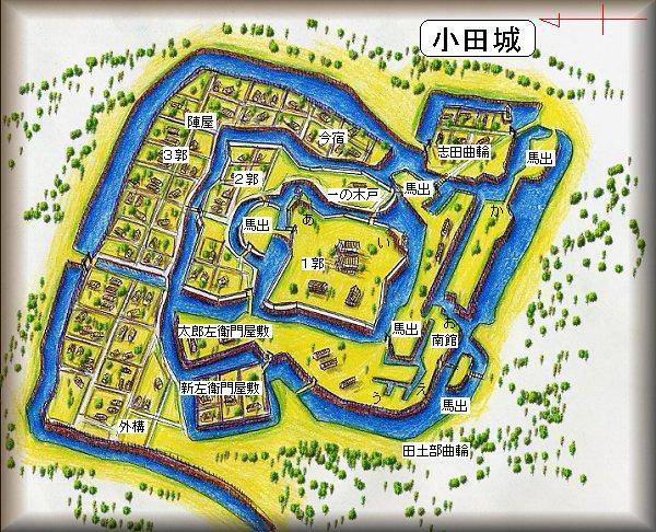 20190226小田城址縄張り図