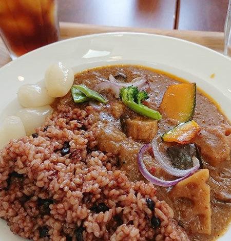 一日限定酵素玄米カレー