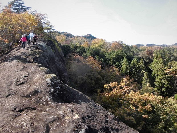 18.11.17 般若山と釜の沢五峰 (29)