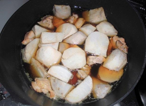 6 18.12.31 絵の修正写真、鴨川散歩、煮豚と里芋煮 (82)