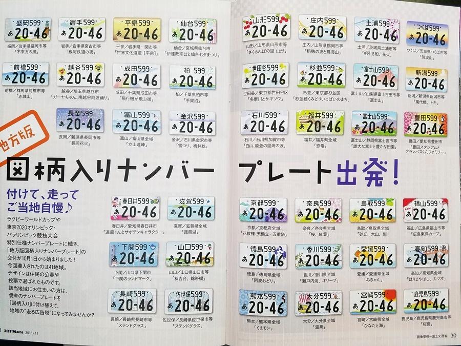 図柄ナンバープレート1-1