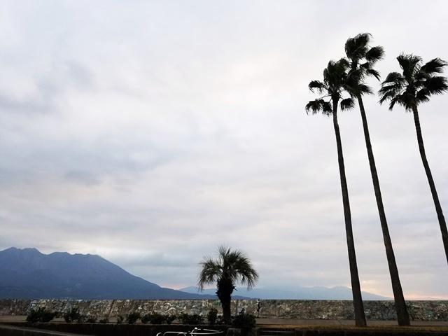 1月2日の桜島
