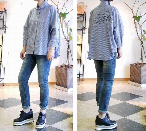 copオーバーサイズシャツD