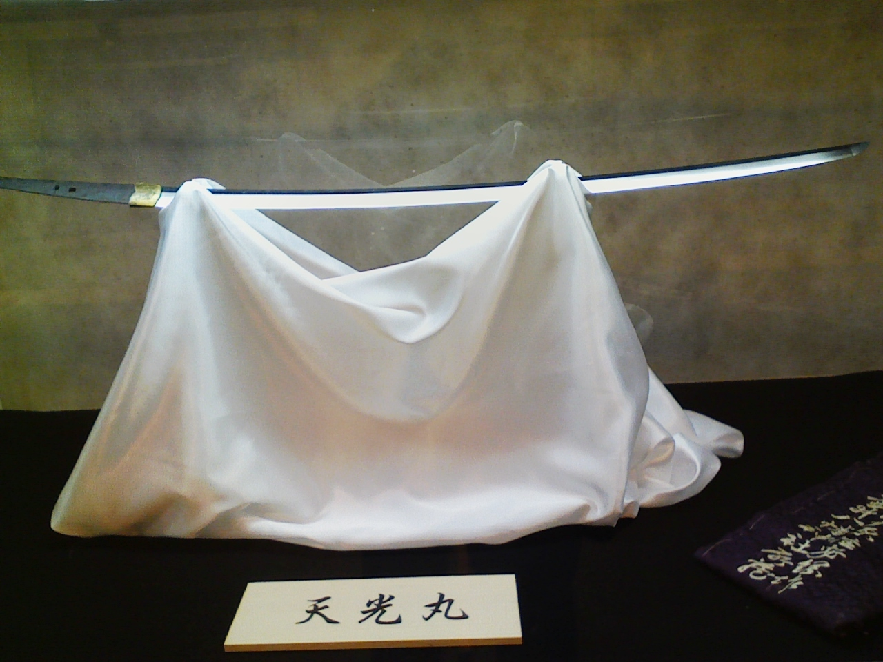 2019_02_15_盆梅と刀剣展
