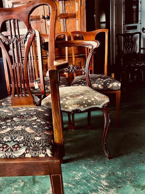 イギリスアンティーク家具 椅子
