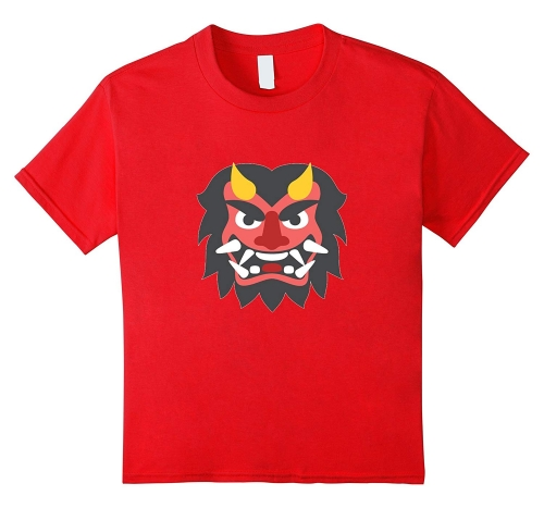 (Japanese Ogre Emoji T-Shirt-RT – Rateeshirt)