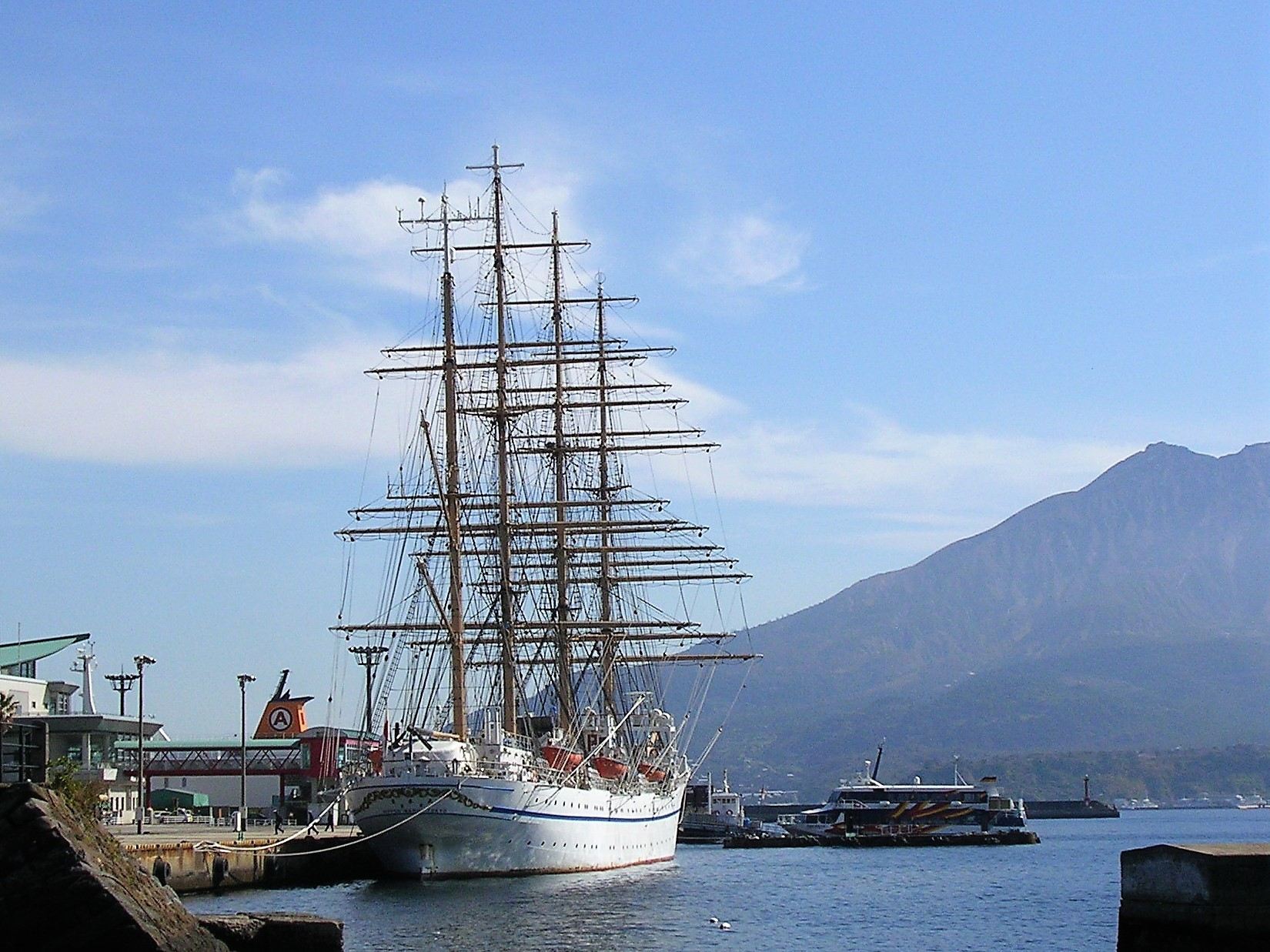 帆船「日本丸」
