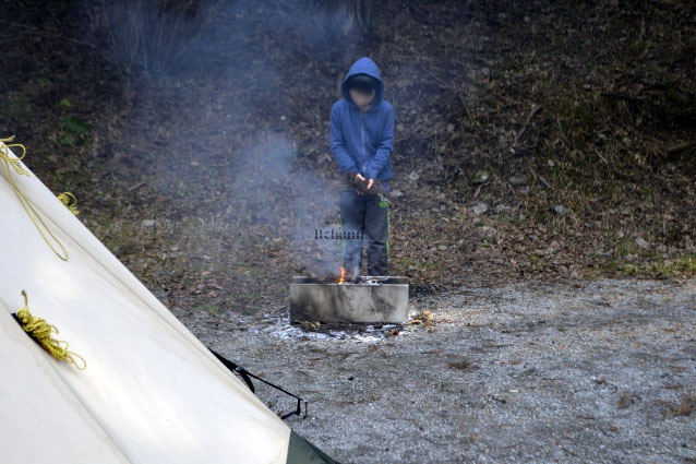 何がなんでもキャンプだし キャンプ ライジングフィールド 道志の森 久保キャンプ場 都留 令和元年台風19号 道志 ビンテージ 富士山 朝霧JAM