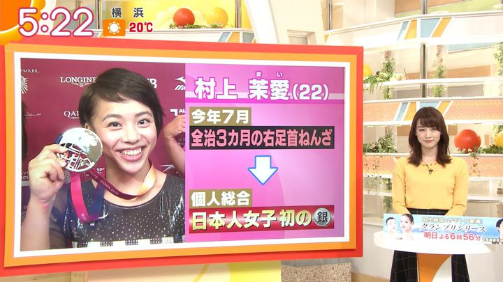 2018年11月02日新井恵理那の画像09枚目