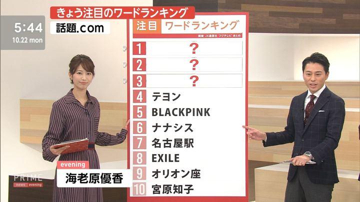 海老原優香 プライムニュースイブニング (2018年10月22日,23日放送 13枚)