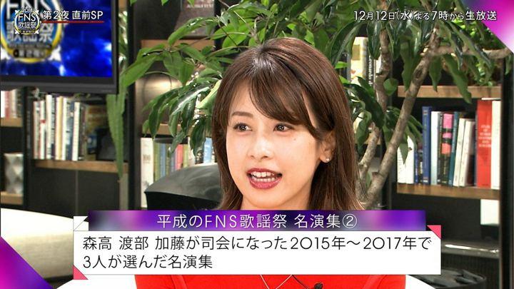 2018年12月09日加藤綾子の画像09枚目