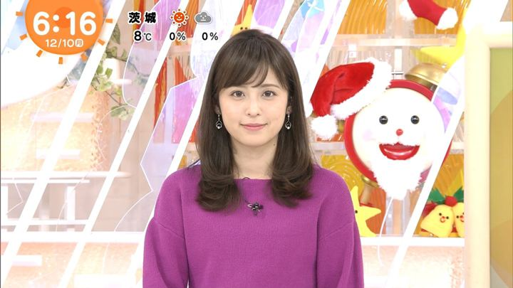 久慈暁子 めざましテレビ (2018年12月10日放送 16枚)