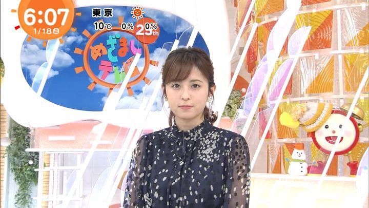 久慈暁子 めざましテレビ (2019年01月18日放送 17枚)