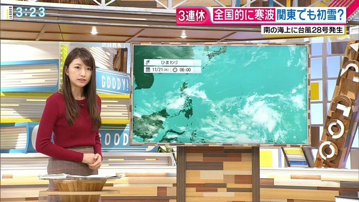 2018年11月21日三田友梨佳の画像10枚目
