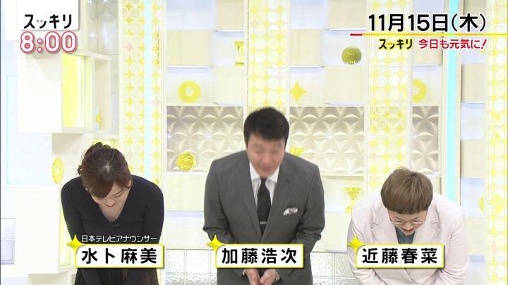 2018年11月15日水卜麻美の画像02枚目