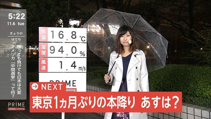 2018年11月06日酒井千佳の画像01枚目